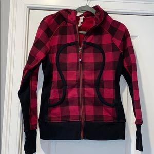 Size 8 Lululemon Lumberjack Scuba Hoodie